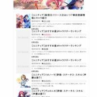 ユニティア攻略ブログ